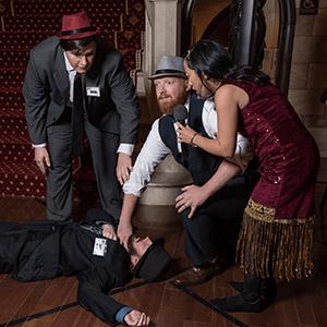 Columbus Murder Mystery Crime Scene